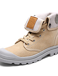 Unisex Boots Spring / Fall / Winter Work & Safety / Comfort / Combat Boots Canvas / Tulle Outdoor / Athletic / Casual