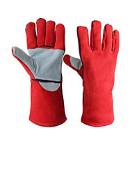 Wear Protective Gloves Welding  Palm Section  Thicker