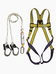 Outdoor Aerial Work Anti Fall Safety Belt Safety Rope Combination