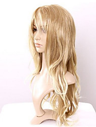 Charming Hair Style Long Wavy Blonde Wig Heat Resistant Cheap Costume Wigs Cosplay Fluffy Wig Curly