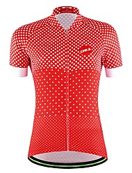 Sports Cycling Jersey Women's / Men's / Unisex Short Sleeve BikeBreathable / Quick Dry / Moisture Permeability / Back Pocket /