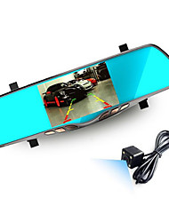 Manufacturer Direct High-Definition Night Vision Mirror 5 Inch Blue Mirror 12.0MP Driving Recorder