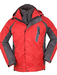 Outdoor Men's 3-in-1 Jackets / Winter Jacket Camping / Hiking / Climbing / Leisure Sports / Snowsports / SnowboardingWaterproof /