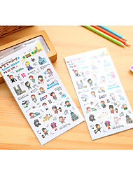 1pc Stickers  Material  Paper  Type Stickers