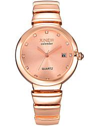 Luxury Full Stainless Steel Band Diamonds Ladies Dress Wristwatch Women Date Clock Girls Quartz Watch Relogio Feminino