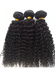 14-18'' Malaysian Virgin Hair 3 Bundles Malaysian Curly Hair Malaysian Kinky Curly Virgin Hair Deep Wave Curly 1b