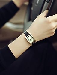 Ladies' Vintage Genuine Leather Small Dial Quartz Watches