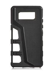 Für Samsung Galaxy Hülle Stoßresistent Hülle Rückseitenabdeckung Hülle Einheitliche Farbe Hart TPU Samsung A7(2016) / A5(2016)
