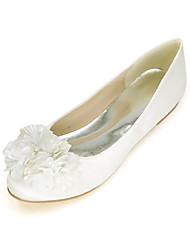 Women's Flats Spring / Summer / Fall Round Toe / Flats Silk Wedding / Party & Evening