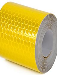 explosion - la preuve bande réfléchissante jaune fluorescent un paquet de 2 un paquet d'un achat