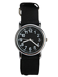 Fashion Trend Of Nylon Black With A Child Watch
