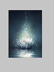 Botânico Impressão em tela Um Painel Pronto para pendurar , Vertical