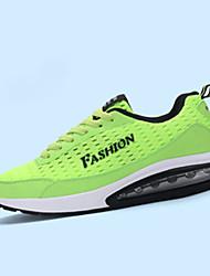 Femme-Sport-Noir / Vert / Bleu royal-Talon Plat-Confort / Bout Arrondi-Sneakers-Tulle