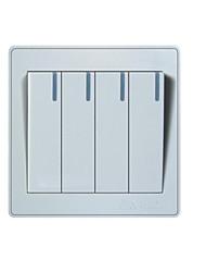 16a commande interrupteur mural unique de quatre bits