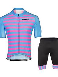 Sport Fahhrad/Radsport Kleidungs-Sets/Anzüge Unisex Kurze ÄrmelAtmungsaktiv / Rasche Trocknung / tragbar / 4D - Pad / Antirutsch /