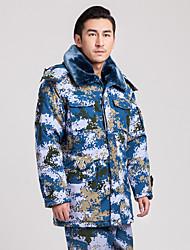 Wandern Softshell Jacken Unisex warm halten / tragbar Winter Baumwolle Tarnfarben S / M / L / XL / XXL / XXXL Camping & Wandern-Sport