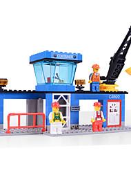 Jouets Pour les garçons Building Blocks Blocks Maquette & Jeu de Construction War Chariot / Hélicoptère Plastique Au-dessus de 6