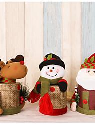 Acessórios do partido Caixas de Ofertas Natal Tema Clássico / Tema rústico Cilindro Não-Personalizado Papél de Alta Qualidade