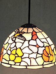 Pendant Light ,  Modern/Contemporary Tiffany Painting Feature for Mini Style Metal Living Room Kitchen