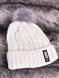Women Acrylic Beanie/SlouchyCasual Spring / Fall / Winter