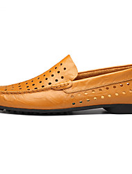Men's Flats Spring / Fall Comfort Synthetic / Rubber Outdoor / Casual Low Heel Others Black / Blue / Brown Others