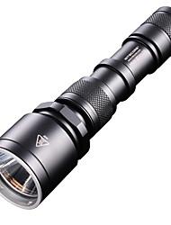 Nitecore® Lanternas LED LED 960 Lumens 4.0 Modo Cree XM-L2 T6 18650.0 / CR123A Prova-de-Água / Recarregável / Tático / Super LeveCampismo