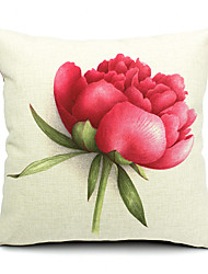 1PC Household Articles Back Cushion Novelty Originality Fashionable Floral Rose Prints Pillow Case