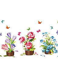 Animaux / Noël / Floral Stickers muraux Stickers avion Stickers muraux décoratifs / Stickers de Mesure,PVC MatérielLavable / Amovible /