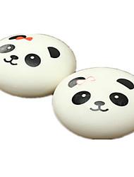 2PCS Kawaii Jumbo Panda Squishy Buns Cell Phone Bag Strap Pendant