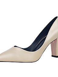 Women's Heels Fall Heels / Pointed Toe / Closed Toe Leatherette Dress Chunky Heel Others More Colors Available.
