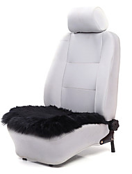 AUTOYOUTH 1Pcs Luxury Seat Cushions Wool Black Car Seat Covers Fit All Brand Vehicle Interior Accessories