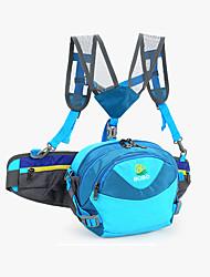6 L Hüfttaschen / Tourenrucksäcke/Rucksack / Fahrradtasche Camping & Wandern / Legere Sport / Reisen / Radsport / LaufenDrinnen / Draußen