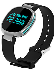 E08 Heart Rate Monitor Smart Bracelet Waterproof IP67 Bracelet w/ Pedometer / Stopwatch One-click Camera- Blue