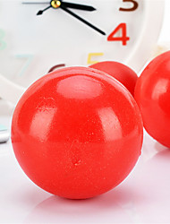 Dog Toy Pet Toys Ball / Chew Toy Durable Rubber Red