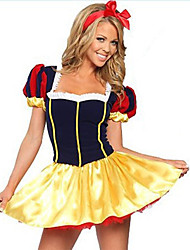 Costumes Movie & TV Theme Costumes Halloween Yellow / Blue Solid Terylene Dress / More Accessories
