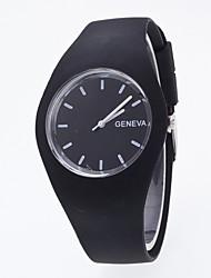 Женские Спортивные часы Нарядные часы Модные часы Наручные часы Китайский Кварцевый силиконовый Группа С подвесками Креатив Повседневная
