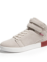 Men's Shoes Casual/Party/Youth For Sports And Leisure Fashion Suede Medium cut Sneakers Board Shoes Boots