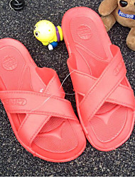 Unisex Slippers & Flip-Flops Spring / Summer / Fall Comfort Customized Materials Casual Flat Heel