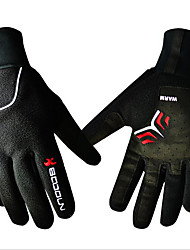 Sports Gloves Unisex Cycling Gloves Winter Bike GlovesKeep Warm Waterproof Windproof Ultraviolet Resistant Wearproof Protective