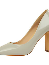 Women's Heels Fall Heels / Square Toe / Closed Toe Leatherette Dress Chunky Heel OthersMore Colors Available.