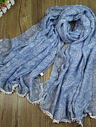 Women's Fashion Voile Lace Cottom Scarf