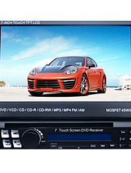 schermo supporto auto lettore pannello digitale touch screen LCD 1DIN DVD gps.ipod.bluetooth.stereo radio.rds.touch 7 pollici