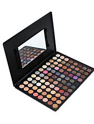 88 Paleta de Sombras Secos Paleta da sombra Pó Grande Maquiagem para o Dia A Dia