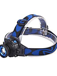 LED Long-range zoom Waterproof Headlight    Power Type Rechargeable