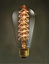 st64 Рождественская елка Edison творческие ретро декоративные лампочки (e27 40w)