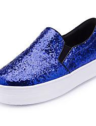 Women's Loafers & Slip-Ons Spring / Summer / Fall / Winter Closed Toe Glitter Outdoor Flat Heel Sequin