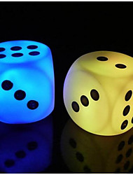 Dice Night Light Led Colorful Lights Luminous Creative Toys For Children