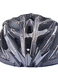 MOON vélo noir et or PC / EPS 27 Vents lumière Casque de vélo