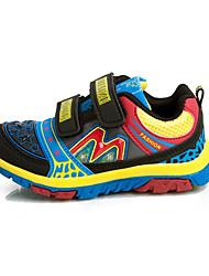 Garçon-Décontracté-Noir-Talon Plat-Bout Arrondi-Chaussures d'Athlétisme-Tulle