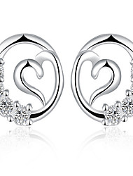 May Polly  European and American fashion Zircon Earrings